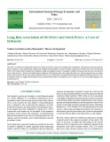 Long run association of oil prices and stock prices: A case of Indonesia