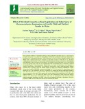 Effect of microbial consortia as basal application and foliar spray of gluconacetobacter diazotropicus on growth, yield and nutrient uptake by maize