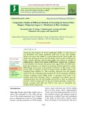 Comparative studies of different methods of screening for brown plant hopper (Nilaparvata lugens L.) resistance in rice genotypes