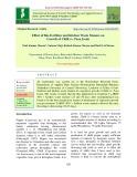 Effect of bio-fertilizer and kitchen waste manure on growth of Chilli cv. Pusa Jwala