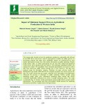 Impact of minimum support price on agricultural production in western India