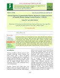 Various extension communication patterns that help in creating awareness of zoonotic diseases among livestock farmers: A review