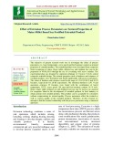Effect of extrusion process parameters on textural properties of maize-millet based soy fortified extruded product