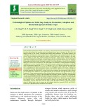 Technological options on yield gap analysis, economics, adoption and horizontal spread of pulse crops