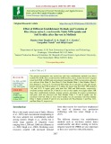 Effect of different establishment methods and varieties of rice (Oryza sativa L.) on growth, yield, NPK uptake and soil fertility after harvest in mollisols