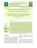 Poultry manure and poultry waste management: A review
