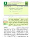 Development of solar operated maize sheller
