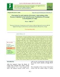 Processing use and analysis of inventory (stock-taking) of the essences exploited in the united forestry exploitation of Gouongo in the republic of Congo