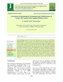Assessment of morphological, physiological and yield response of varagu with legume intercropping planting system