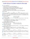 Tuyển tập 145 câu hỏi lý thuyết tổng hợp môn Hóa học - Phạm Công Tuấn Tú