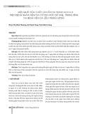 Hiệu quả của chất làm ẩm da XeraCalm A.D trên bệnh nhân viêm da cơ địa mức độ nhẹ, trung bình tại Bệnh viện Da liễu Trung ương