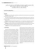 Khảo sát sự thay đổi nồng độ kẽm huyết thanh của bệnh nhân viêm da cơ địa trẻ em tại Bệnh viện Da liễu Trung ương