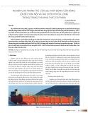 Nghiên cứu tương tác của lực thủy động của sóng lên bể chứa nổi và tàu chở khí hóa lỏng trong trạng thái khai thác cập mạn