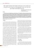 Ứng dụng phương pháp ngâm chiết soda và tác nhân oxy hóa để thu hồi chọn lọc molybdenum từ xúc tác thải của quá trình hydrodesulphur hóa