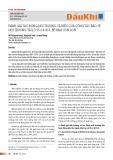 Đánh giá tác động môi trường và hiệu quả công tác bảo vệ môi trường tại lô 05-2 & 05-3, bể Nam Côn Sơn