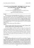 Ứng dụng statcom để điều chỉnh điện áp và bù công suất phản kháng cho hệ thống điện