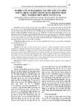 Nghiên cứu sự dao động vận tốc góc của trục khuỷu động cơ đốt trong bằng phương pháp thực nghiệm trên động cơ 1Ч17,5/24