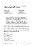 Nghiên cứu thực trạng và dự báo vốn đầu tư tại vùng kinh tế trọng điểm phía Nam