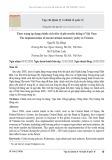 Thực trạng áp dụng chính sách tiền tệ phi truyền thống ở Việt Nam