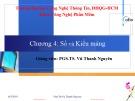 Bài giảng Đặc tả hình thức: Chương 4 - PGS.TS. Vũ Thanh Nguyên