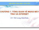 Bài giảng Lý thuyết mạng máy tính: Chương 1 - ThS. Lương Minh Huấn