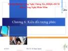 Bài giảng Đặc tả hình thức: Chương 6 - PGS.TS. Vũ Thanh Nguyên