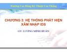 Bài giảng Thiết kế hệ thống mạng LAN: Chương 3 - ThS. Lương Minh Huấn