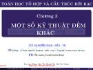 Bài giảng Toán học rời rạc và cấu trúc rời rạc: Chương 3 - Đại học Khoa Học Tự Nhiên Tp. Hồ Chí Minh
