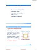 Bài giảng Vật lý 1: Vật dẫn – Tụ điện