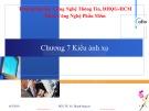 Bài giảng Đặc tả hình thức: Chương 7 - PGS.TS. Vũ Thanh Nguyên