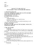Giáo án Ngữ văn 12 (Mẫu số 2)