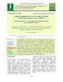 Culture establishment of coccinia grandis (L.) through nodal segments under in vitro conditions