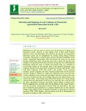Detection and mapping of actor linkages in women led agricultural innovation system (AIS)