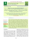 Response of growth, yield and yield attributes of popcorn (Zea mays everta) to organic and inorganic sources of nutrients