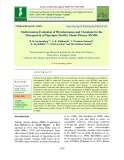 Multi-location evaluation of phytohormones and chemicals for the management of pigeonpea sterility mosaic disease (PSMD)