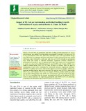 Impact of fly ash on germination and initial seedling growth performance of Acacia auriculiformis A. Cunn. Ex Benth