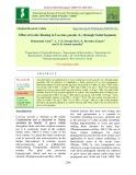 Effect of invitro rooting in coccinia grandis (L.) through nodal segments
