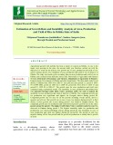 Estimation of growth rate and instability analysis of area, production and yield of rice in Odisha state of India
