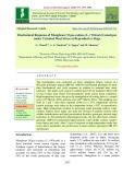 Biochemical response of mungbean [Vigna radiata (L.) Wilczek] genotypes under terminal heat stress at reproductive stage