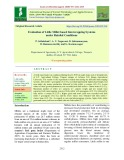 Evaluation of little millet based intercropping systems under rainfed conditions