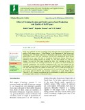 Effect of training system and fruit load on seed production and quality of bell pepper