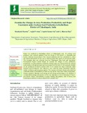 Examine the changes in area, production, productivity and major constraints under soybean seed production in Kabirdham district of Chhattisgarh, India