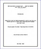 Tóm tắt luận án Tiến sĩ Kinh tế: Chống chuyển giá trong quản lý thuế thu nhập doanh nghiệp tại Việt Nam