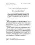 Nghiên cứu khả năng quang hợp và mức độ chín tập trung của bảy giống đậu xanh