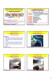 Bài giảng Công trình thủy: Chương 3 - PGS.TS. Nguyễn Thống