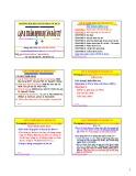 Bài giảng Lập và thẩm định dự án đầu tư: Chương 1&2 - PGS.TS. Nguyễn Thống