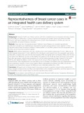 Representativeness of breast cancer cases in an integrated health care delivery system