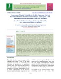 Assessment of spatial variability in fertility status and nutrient recommendation in Alanatha Cluster Villages, Kanakapura Taluk, Ramanagara District, Karnataka Using GIS Techniques