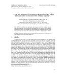 Cụ thể hóa nội dung các giai đoạn trong lôgic tiến trình khoa học hình thành kiến thức về khái niệm vật lí