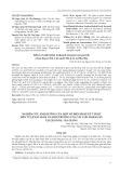 Nghiên cứu ảnh hưởng của một số biện pháp kỹ thuật đến tỷ lệ nảy mầm và sinh trưởng của cây con hoàng kỳ tại Quản Bạ - Hà Giang